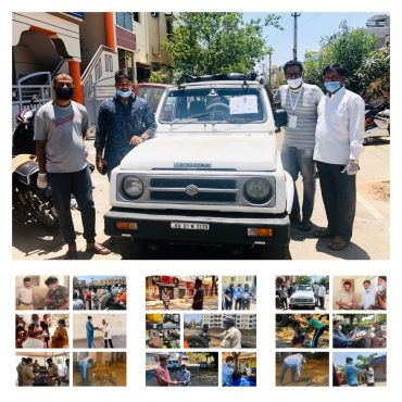 Shree Caterers with Niyati Events get on road to help the hungry and thirsty in Mysuru.