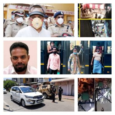 Padarayanapura violence case,Prime accused with more than 126 arrested by Bengaluru CCB&West Division police :