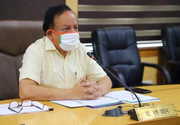 Dr. Harsh Vardhan interacts with Civil Society Organizations/NGOs via Video Conferencing