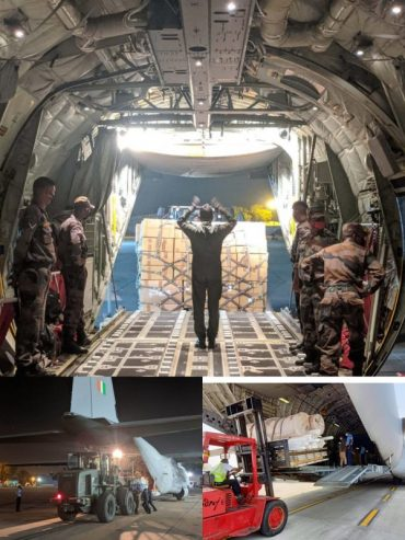 IAF'S SUPPORT TOWARDS FIGHT AGAINST COVID-19