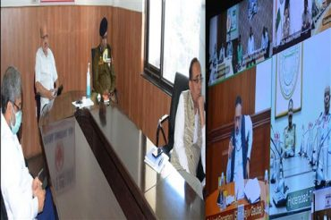 Cabinet Secretary meeting with Chief Secretaries / DGPs of all States via Video Conferencing