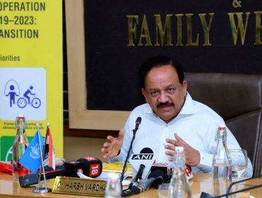 Dr. Harsh Vardhan launches Decade of Healthy Ageing (2020-2030) on International Day for Older Persons