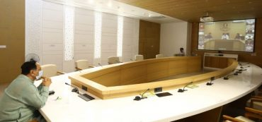 Gujarat CM holds cabinet meeting to make comprehensive review of current Coronavirus lockdown situation in Gujarat