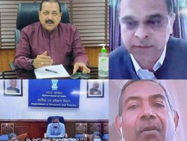 MoS (PP) Dr Jitendra Singh chairs review meeting of Actions for COVID-19 for the Ministry of Personnel, Public Grievances and Pensions