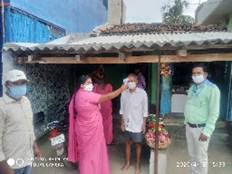 Local administrations at district and village levels continue taking various measures to check the spread of the COVID-19 pandemic in the country