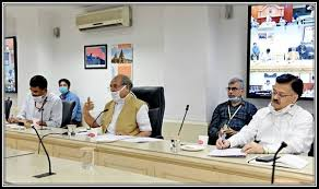Minister for Rural Development, Panchayati Raj and Agriculture & Farmers' Welfare, Shri Narendra Singh Tomar holds Video Conference with State Rural Development Ministers in the light of the relaxation in Non-Containment Areas from 20th April 2020