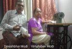 रेलकर्मी श्री दिनेश मोदी अपनी सोसाईटी में बनवा रहे हैं मास्क:  मास्कमेन ऑफ रेलवे