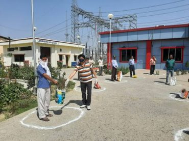POWERGRID carrying out CSR activities to combat COVID-19 pandemic