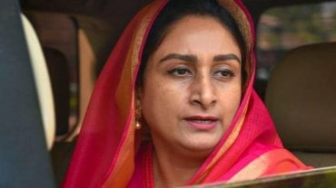 Smt. Harsimrat Kaur Badal holds video conference with promoters of cold chain projects
