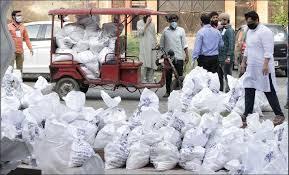 हमदर्द नेशनल फाउंडेशन ने लॉकडाउन के बीच दिल्ली में 1200 से अधिक गरीब परिवारों को राशन उपलब्ध कराया