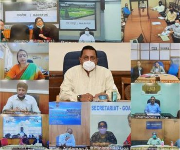 Dr. Jitendra Singh reviews DARPG's COVID 19 Public Grievances Redressal Progress Report for the period March 30-May 4, 2020 with 28 States and 9 Union Territories