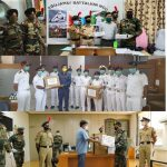 NCC Cadets Distribute 2500 Hand Stiched Masks For Needy At 21 Towns In Gujarat