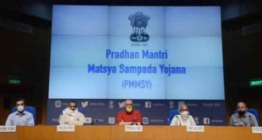 Pradhan Mantri Matsya Sampada Yojana (PMMSY) aims to enhance fish production to 220 LMT with an investment of over Rs.20,000 crores in next five years