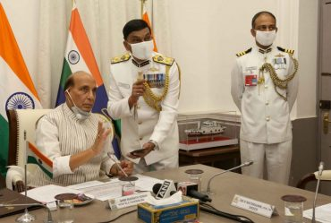 Raksha Mantri Shri Rajnath Singh commissions Indian Coast Guard Ship 'Sachet' and two interceptor boats;
