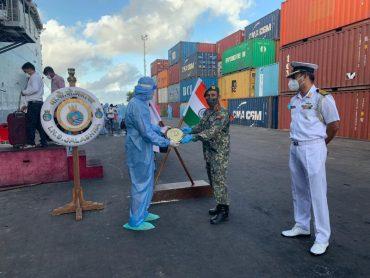 OP Samudra Setu – INS Jalashwa departs Male for Tuticorin with 700 Indians embarked