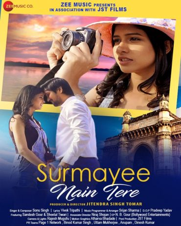 "TV Celebs Sandesh Gour & Sheetal Tiwari paired for Jitendra Singh Tomar's ""Surmayee Nain Tere"" for Zee Music"