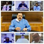 Union Minister Dr Jitendra Singh addresses a Virtual Conference of Heads and representatives of National Medical Teaching Institutes