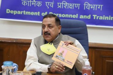 Union Minister Dr. Jitendra Singh launches Booklet and it's e-version on one year achievements of DoPT under Modi Government 2.0
