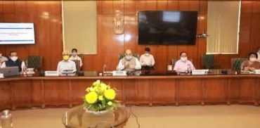 Union Home Minister Shri Amit Shah held a high level meeting to review preparedness of measures to deal with monsoon and flood situation in major flood prone river basins in the country