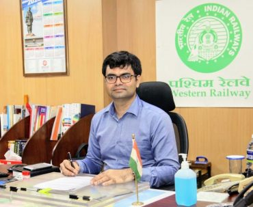 SHRI SUMIT THAKUR TAKES OVER AS NEW CHIEF PUBLIC RELATIONS OFFICER OF WESTERN RAILWAY