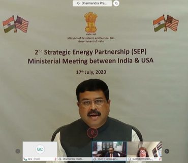 Media Remarks by Minister of Petroleum & Natural Gas and Steel Shri Dharmendra Pradhan on the conclusion of 2nd Meeting of India-US Strategic Energy Partnership