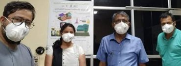 Active respirator mask & nano-sanitiser developed by SNBNCBS can help in combatting COVID 19