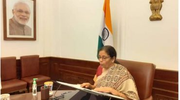 Finance Minister Smt. Nirmala Sitharaman attends the 3rd G20 Finance Ministers and Central Bank Governors Meeting