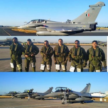"""""""Beauty and the Beast""""-  Rafale Fighter Aircraft."""