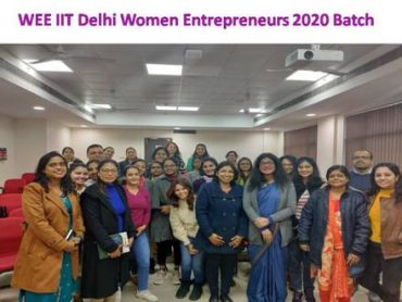 Women ranging from college going students to middle-aged housewives prepare for entrepreneurship journey