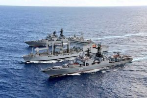 Passage Exercise (PASSEX) Between Royal Australian Navy and Indian Navy in East Indian Ocean Region