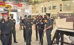 ARMY COMMANDER VISITS HQs AIR DEFENCE BRIGADE AND ELECTRONICS & MECHANICAL ENGINEERS SCHOOL, VADODARA