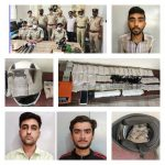 Two Notorious Drug peddlers arrested by City Market Police and recovered drugs worth of Rs.3.30 Crore .
