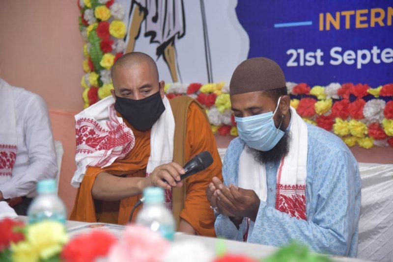 INTERNATION DAY OF PEACE CELEBRATED IN GUWAHATI.