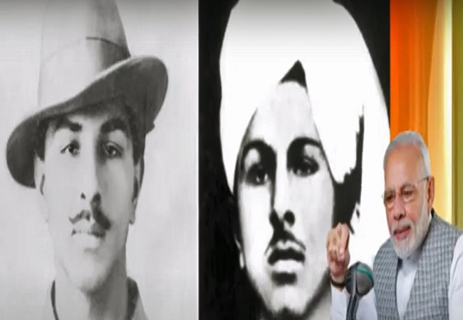 PM pays tribute to Shaheed Bhagat Singh, on his Jayanti