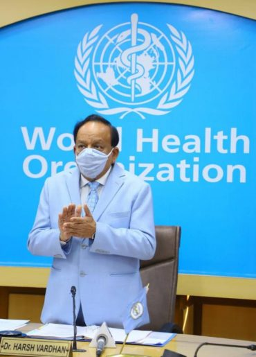 Dr Harsh Vardhan chairs 5th Special Session of the WHO Executive Board