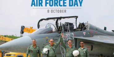 Raksha Mantri Shri Rajnath Singh greets air warriors on 88th Air Force Day
