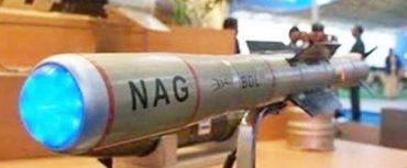 Final User Trial of NAG Missile