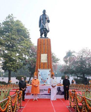 On Rashtriya Ekta Diwas, a special program was organized at Sardar Patel Chowk in New Delhi