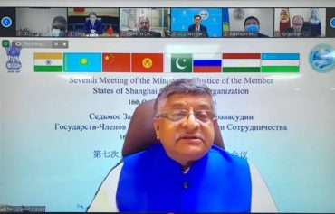 India Hosts Virtual Summit of Ministers of Justice of Shanghai Cooperation Organisation (SCO)