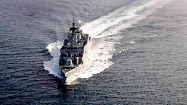 Indigenously built ASW Corvette 'Kavaratti' to be Commissioned at Visakhapatnam