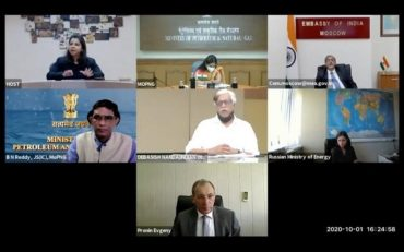 First ever India-Russia Webinar on Use of Natural Gas as a Motor Fuel organized