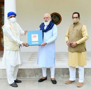 PM Releases Book on the Life of Sri Guru Nanak Dev ji