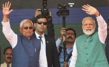 PM congratulates Shri Nitish Kumar on taking oath as CM of Bihar