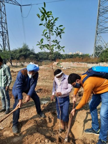 Urban Forests are being developed not just as a well conceived & planned Forests in Metro Cities but are being created as a part of tradition by a Group of Serving & Retired Customs & CGST Officers, their friends & families