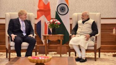 Prime Minister Speaks to the UK PM Mr Boris Johnson
