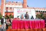 Dr. Harsh Vardhan distributes masks and soaps with Indian Red Cross Society (IRCS) at Old Delhi Railway Station