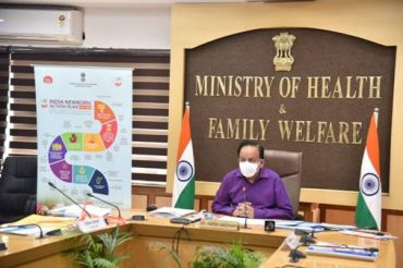 Dr. Harsh Vardhan launches the National Newborn Week 2020
