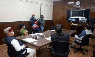 """Shri Thaawarchand Gehlot e-releases Documentary """"Illustrations and Calligraphy in the Constitution of India"""""""