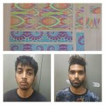 Online Drugs racket busted,Two Notorious Drug peddlers arrested by Anti-Narcotics Wing CCB,1000 LSD strips worth RS.50 Lakhs seized.
