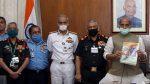 Raksha Mantri Shri Rajnath Singh hands over DRDO systems to Armed Forces Chiefs